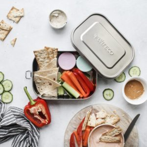 EVER ECO Bento Box - Dual Compartment with Divider