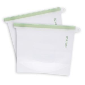 EVER ECO Silicon Reusable Food Pouch 1.5L x 2