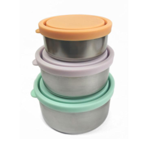 EVER ECO Round Nesting Pastel Container - 3 piece set