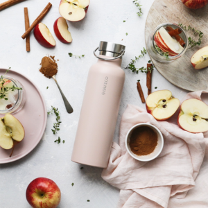 EVER ECO 750mL Insulated Drink Bottle - Rose