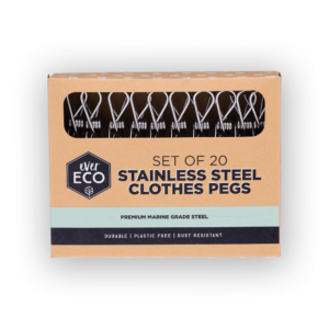 EVER ECO Stainless Steel Pegs - 20