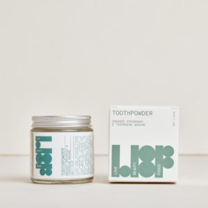 LOVE BEAUTY FOODS Natural Toothpowder - Spearmint & Tasmanian Wakame 50g