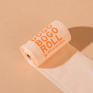 HOW WE ROLL CO Compostable Dog Waste Bags - 4 Rolls